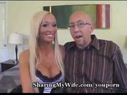 Man share her wife (lichelle marie) with a man