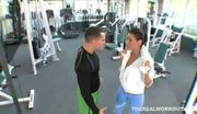 Busty charley chase seduces her fitness trainor and enjoys a