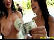 Tantalizing Tan Lines With Raquel - Money Talks