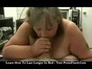 Bree Bangem - Amateur BBW Sucking Cock