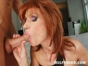 Milf Nina fucks like a champ - Milf Thing