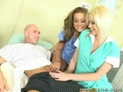 Carmen and Holly Are Nurses Gone Wild - Doctor Adventures
