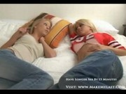 Hot teen lesbo action 1