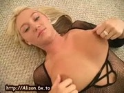 Alison in bodystocking
