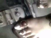Hot indian feet