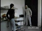 Hot German Teen fucked in the Kitchen