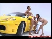 Jayna Oso Fucked On A Ferrari