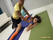 Lucy Doll in real flexi contortion sex