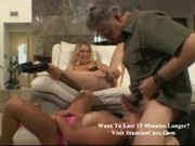 Asya - Blond moron bitches fucking old guy