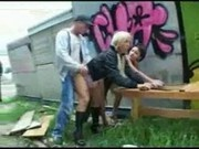 german group sex in public