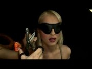Blindfolded Blonde With Breast Bondage Whipped Fucked With Barbie Doll By Mistess