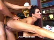 Hot sex in the office