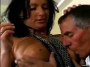Brooke Hunter Gets Fucked By An Older Man