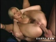 Pussy Cat gets her tight ass stretched by thick cock