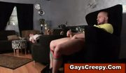 Gay sleeping straight guy