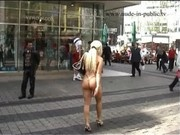 Kerstin nude in public.