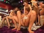 Girls Fingering Each Other Pussies Rubbing Tits On The Lesbian Sexparty