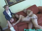 Mature redhead fucking black guy and daughter watching