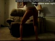 Girl in black thong booty dancing to donk