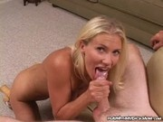 Morgan Wright - Blonde MILF Playing With Cock