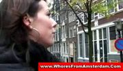 Black amsterdam prostitute gives blowjob