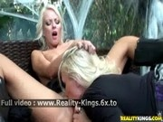 Molly Cavalli and Molly Cavalli - Lesbians Outdoor