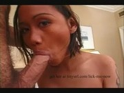 Teen Filipina Susan gives a blowjob