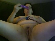 Nicole jasmine fucks herself with two dildos
