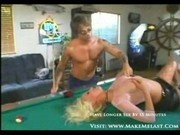 Busty blonde does everything 1