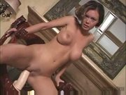 Crissy moran riding a dildo