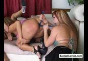 Katja kassin - extreme lesbian fuck