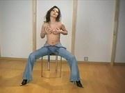 Teasing in Jeans