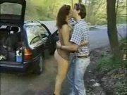Dutch Couple Having Sex on Highway