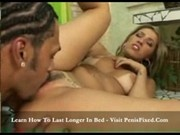 Corazon Blonde Latina Takes Black Rod Up Her Ass3