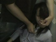 Drunk Businesswoman forced Blowjob in traintoilet Part 1