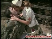 Terra Part horny nurse rides militar cock