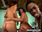 A Big Black Cock For Vanessa and Carol - Brazil Bang