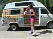 Roller Skater Loves Popsicles 1