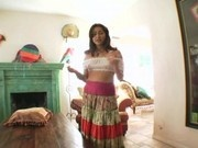 Latina house maid Allie Ray
