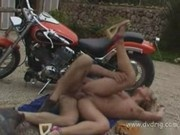 Stunning Nicoletta Blue Gets Initiated In Biker Gang By Getting Her Ass Assaulte