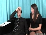 Gisselle – Abusive Handjob Action