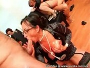 Giant Drunken Orgy Party With Over 100 Girls Getting Fucked!