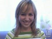 Cute teen posing