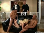 Carson Carmicheal Gets Fucked By Two Horny Guys - Handle My