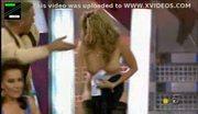 Celebrity stripped