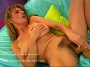 Helena - Hairy mature bitch shows off