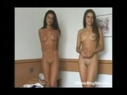 Two Teens Get Naked
