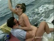 Krista Takes A Boat Ride And Blows Her Boyfriend