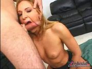 Lauren phoenix is an accomplished swallower