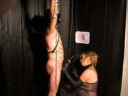 Slave milked - tariffic cumshot